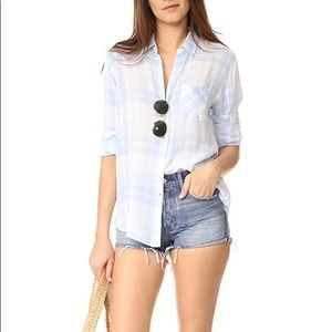 Rails Charli Rockport Plaid Button Down Shirt